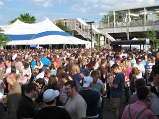 mayfest crowd